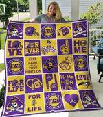 Ncaa East Carolina Pirates Quilt Blanket #1077