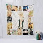 Hilary Duff Quilt Blanket