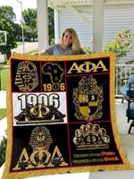 Alpha Phi Alpha All Season Plus Size Quilt Blanket