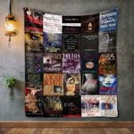 Anne Rice Books Quilt Blanket