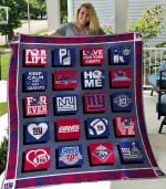 New York Giants Quilt Blanket 04