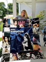 Amy Winehouse Quilt Blanket For Fans Ver 17