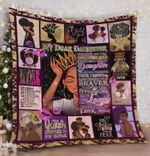 Personalized Black Girl Crown To My Daughter Quilt Blanket From Mom Always Remember You Are Braver Than You Think Great Customized Blanket Gifts For Birthday Christmas Thanksgiving