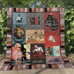 Boxing My Life Quilt Blanket Great Customized Gifts For Birthday Christmas Thanksgiving Perfect Gifts For Boxing Lover