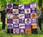 Ncaa Evansville Aces Quilt Blanket #1377