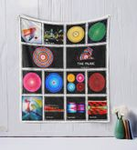 The Music Quilt Blanket