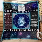 When Really Upset A Sagittarius Has No Care In The World Quilt Blanket Great Customized Blanket Gifts For Birthday Christmas Thanksgiving
