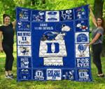 Ncaa Duke Blue Devils Quilt Blanket #46
