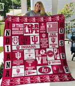 Indiana Hoosiers Quilt Blanket