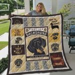 Dachshund Quotes Have You Seen My Wiener Quilt Blanket Great Customized Blanket Gifts For Birthday Christmas Thanksgiving Perfect Gifts For Dachshund Lovers