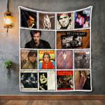 John Mellencamp Album Covers Quilt Blanket