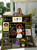 Black Girl Nurse With Short Afro Black Educated Nurse Quilt Blanket Great Customized Gifts For Birthday Christmas Thanksgiving Perfect Gifts For Nurse Black Girl