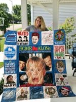 Home Alone Quilt Blanket