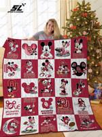 Oklahoma Sooners Disney Quilt Blanket