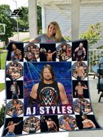 A.J. Styles Quilt Blanket