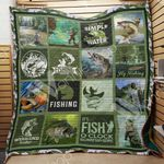 It's Fishing O Clock Somewhere Quilt Blanket Great Customized Gifts For Birthday Christmas Thanksgiving Perfect Gifts For Fishing Lover
