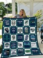 Seattle Seahawks Quilt Blanket