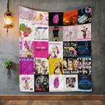 Nicki Minaj Album Covers Quilt Blanket