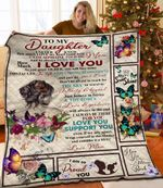 Personalized To My Daughter Quilt Blanket From Mom Always Remember How Much I Love You Great Customized Blanket Gifts For Birthday Christmas Thanksgiving