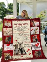 Personalized Chihuahua To My Only Love Quilt Blanket I Love You Forever And Always Great Customized Blanket Gifts For Birthday Christmas Thanksgiving