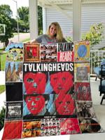 Talking Heads Quilt Blanket 01093