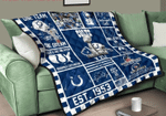 Indianapolis Colts Quilt Blanket
