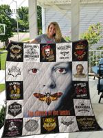 The Silence Of The Lambs Quilt Blanket