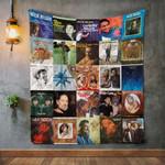 Willie Nelson 2 Album Covers Quilt Blanket