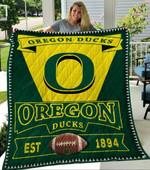 Ncaa Oregon Ducks Quilt Blanket #643