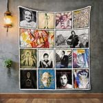 Pete Townshend Album Covers Quilt Blanket