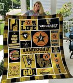 Ncaa Vanderbilt Commodores Quilt Blanket #1044
