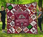 Ncaa New Mexico State Aggies Quilt Blanket #1494