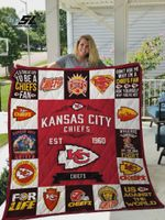 Kansas City Chiefs Quilt Blanket Ver 17