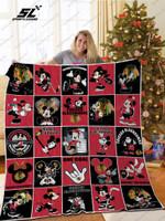 H – Chicago Blackhawks Dn Quilt Blanket
