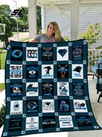 Carolina Panthers Quilt Blanket