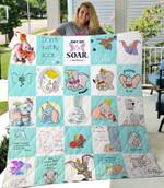 Dumbo – Don'T Fly Soar Quilt Blanket