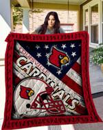 Ncaa Louisville Cardinals Quilt Blanket #120