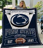 Michigan Wolverines Quilt Blanket