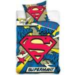 Superman Pow Duvet- Superman Bedding