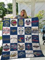 New Orleans Pelicans Quilt Blanket Ver 25