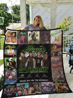 Bl-Poison Quilt Blanket