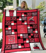 Quilt Blanket Nc State Wolfpack