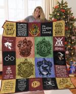 Harry Potter Quilt Blanket For Fans Ver 17