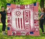 Ncaa Alabama Crimson Tide Quilt Blanket #747