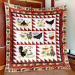 A Chick Here A Chick There Quilt Blanket Great Customized Blanket Gifts For Birthday Christmas Thanksgiving