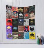 Magma Quilt Blanket