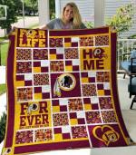Washington Redskins Quilt Blanket 02