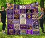 Ncaa Lsu Tigers Quilt Blanket #939