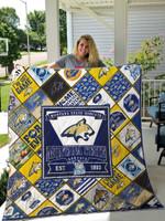 Montana State Bobcats 1 Quilt Blanket