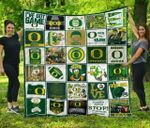 Ncaa Oregon Ducks Quilt Blanket #644